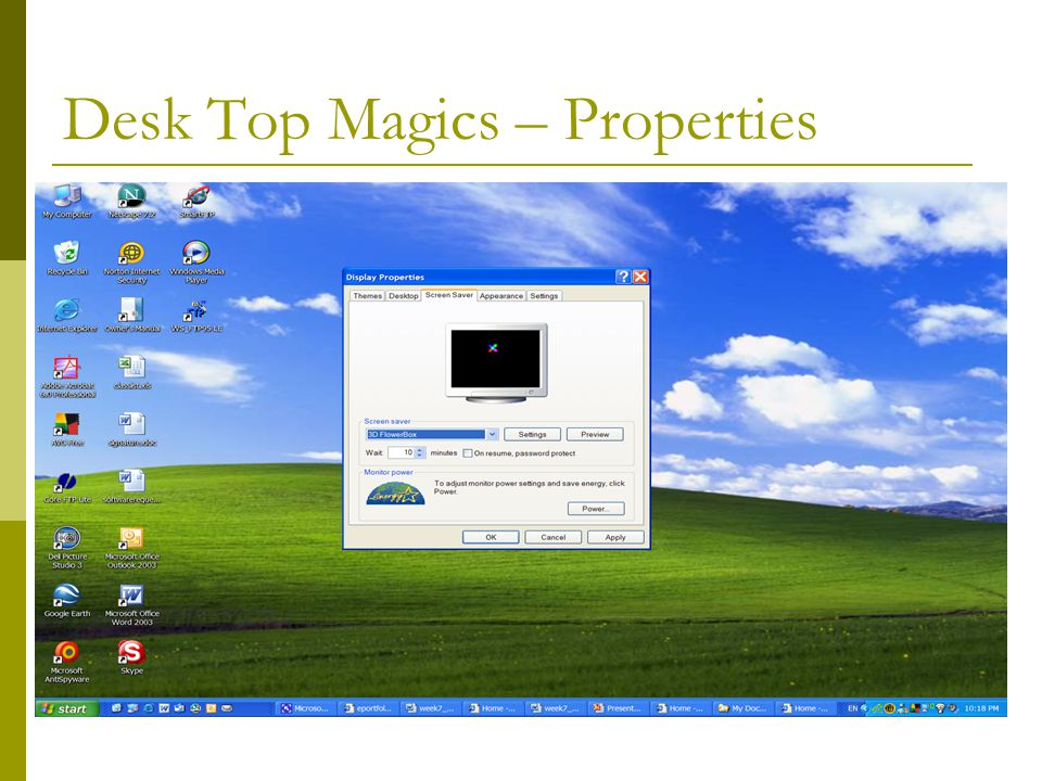 Desk Top Magics – Properties