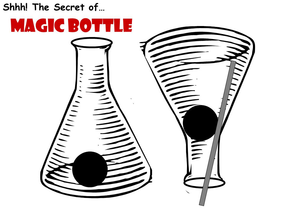 Shhh! The Secret of… Magic bottle