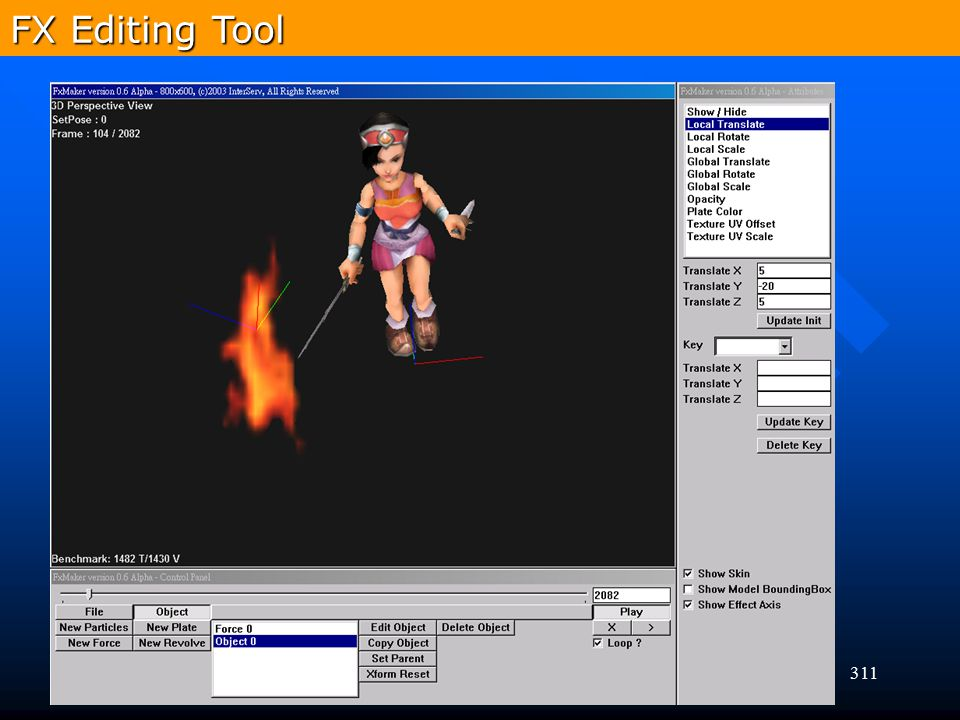 311 FX Editing Tool