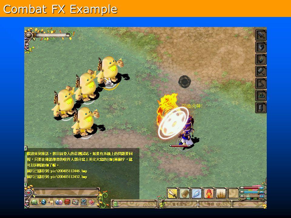 313 Combat FX Example