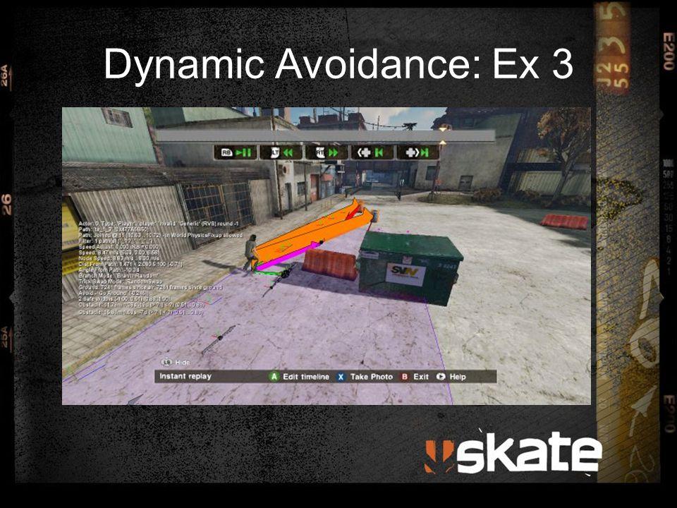 Dynamic Avoidance: Ex 3