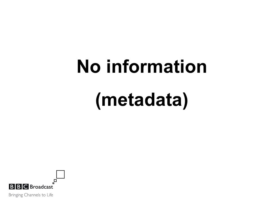 No information (metadata)