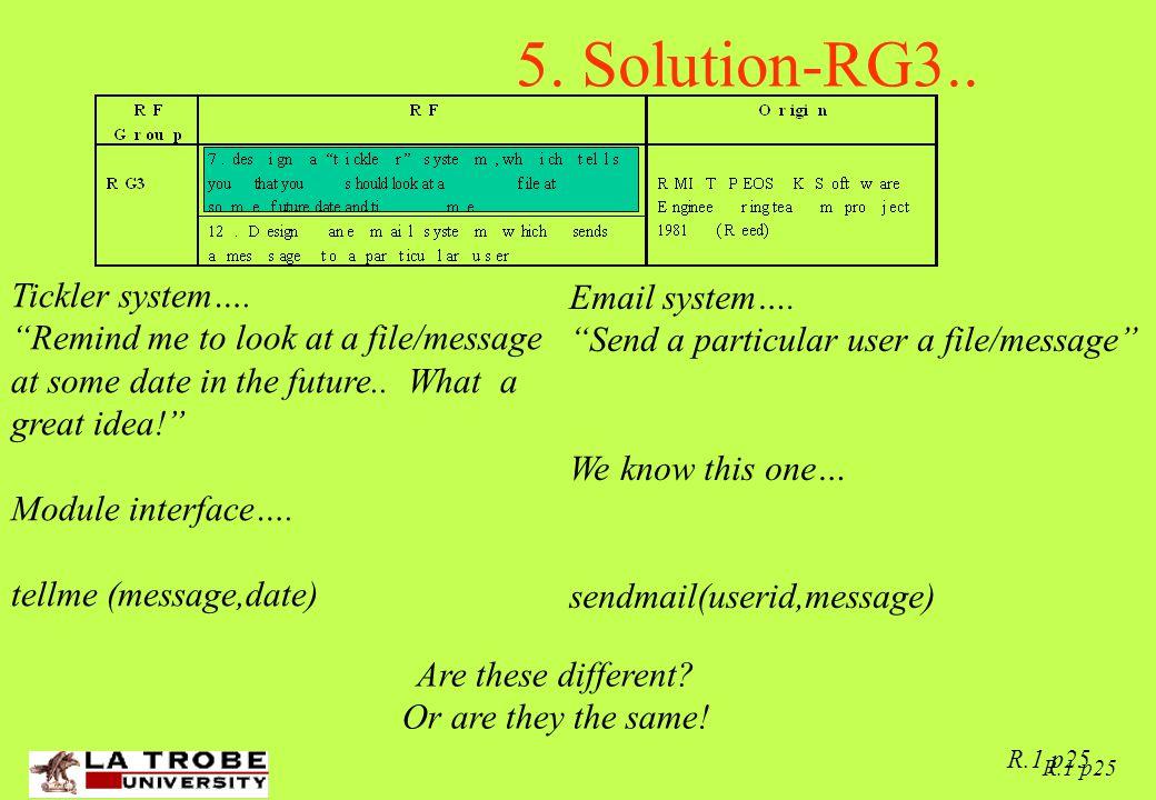 02/06/97 R.1 p25 5. Solution-RG3.. Tickler system….