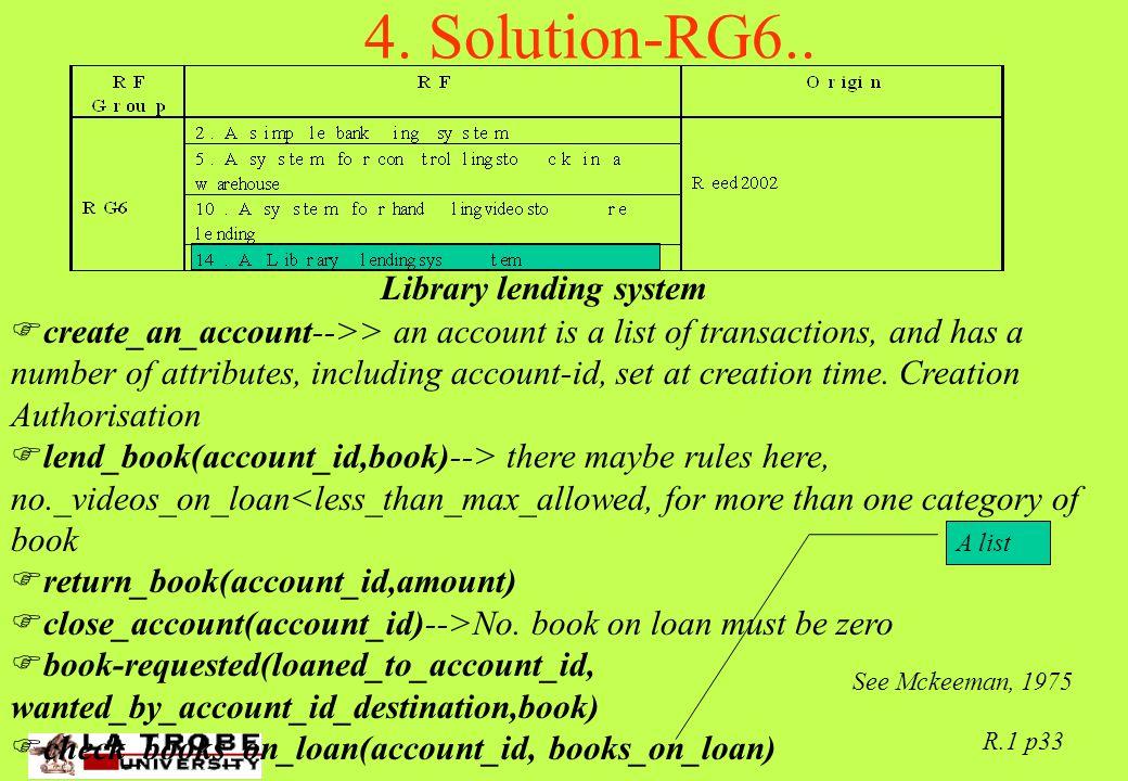 02/06/97 R.1 p33 4. Solution-RG6..
