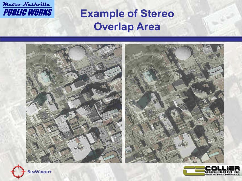 Example of Stereo Overlap Area