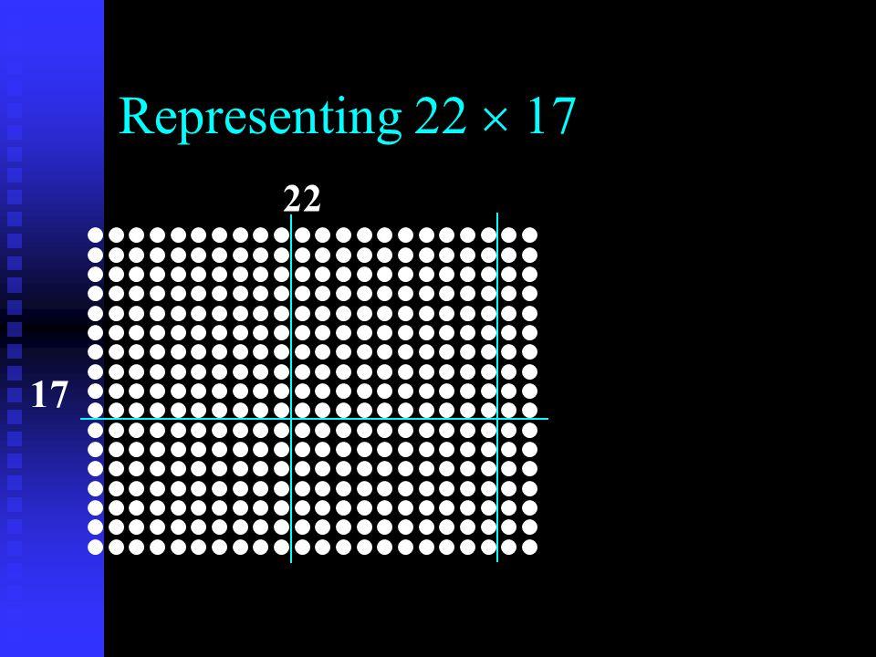 Representing 22  17 22 17