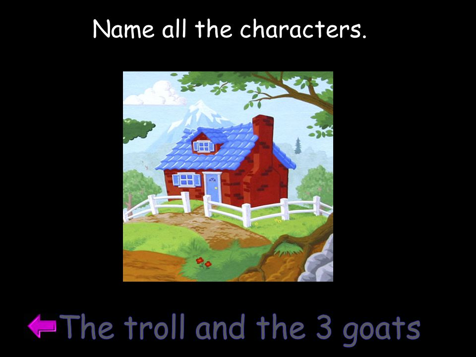Were there animal characters?