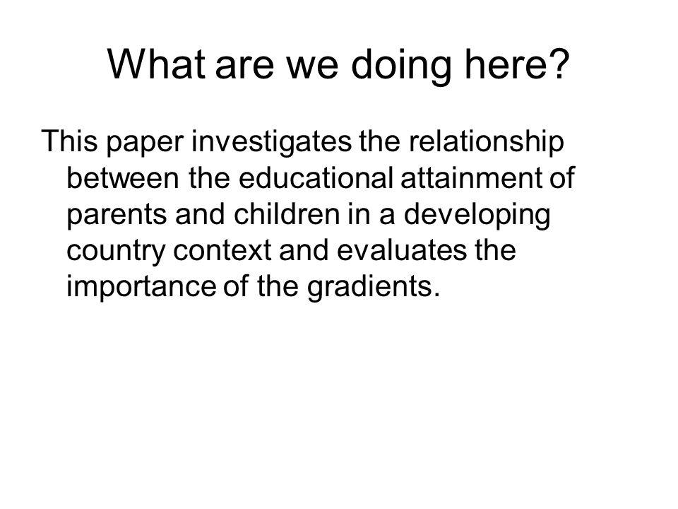 Reduced form: Structure: Consistent Estimators, etc: