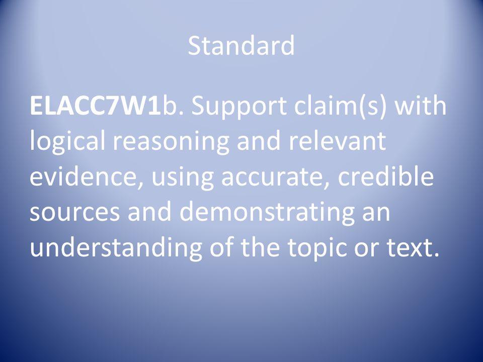Standard ELACC7W1b.