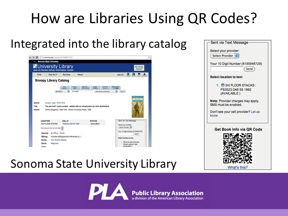 How are Libraries Using QR Codes.
