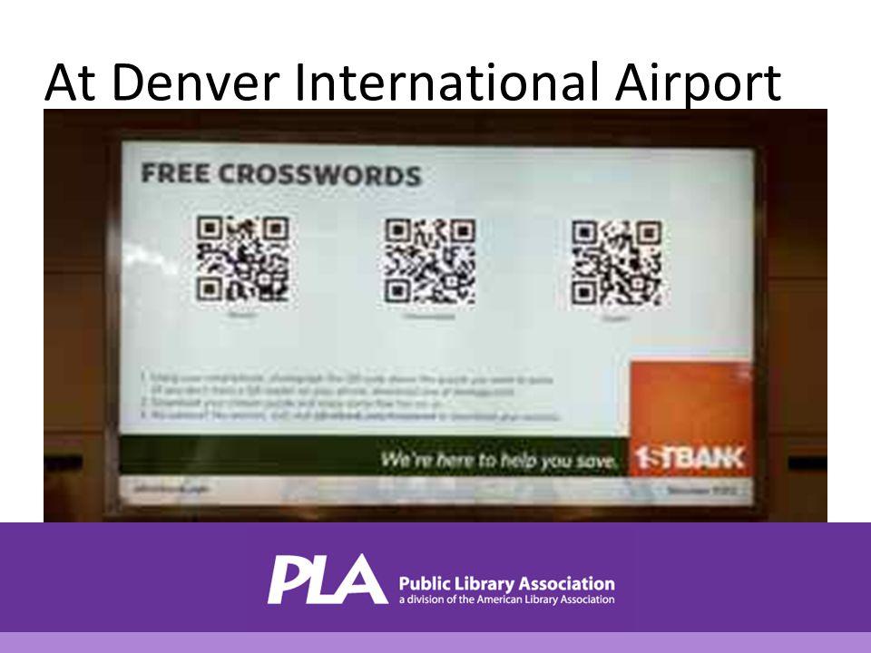 At Denver International Airport