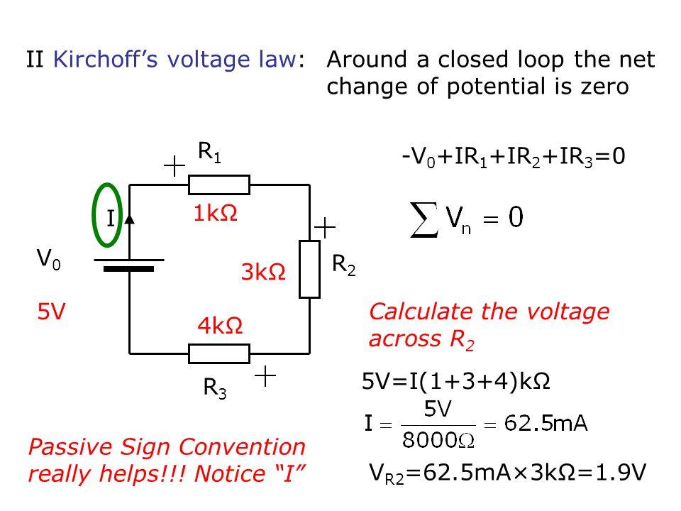 LCR circuit + V0V0 R C L V(t) I(t)=0 for t<0