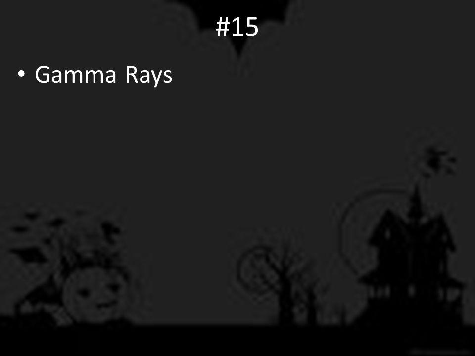 #15 Gamma Rays