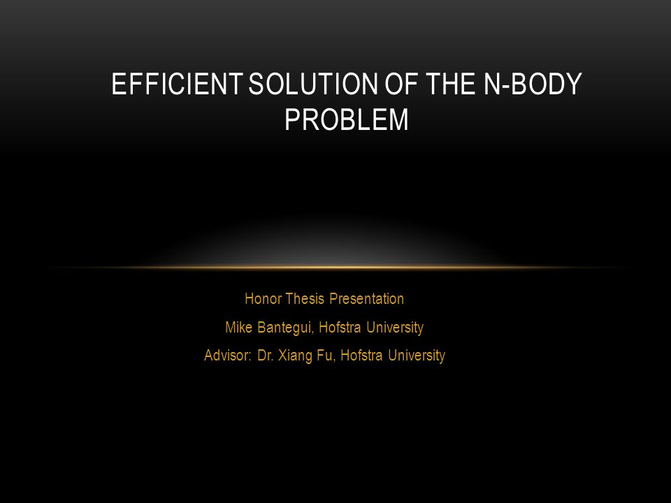 OUTLINE The N-Body Problem Computational challenges Results Existing work IGS Framework Extensions
