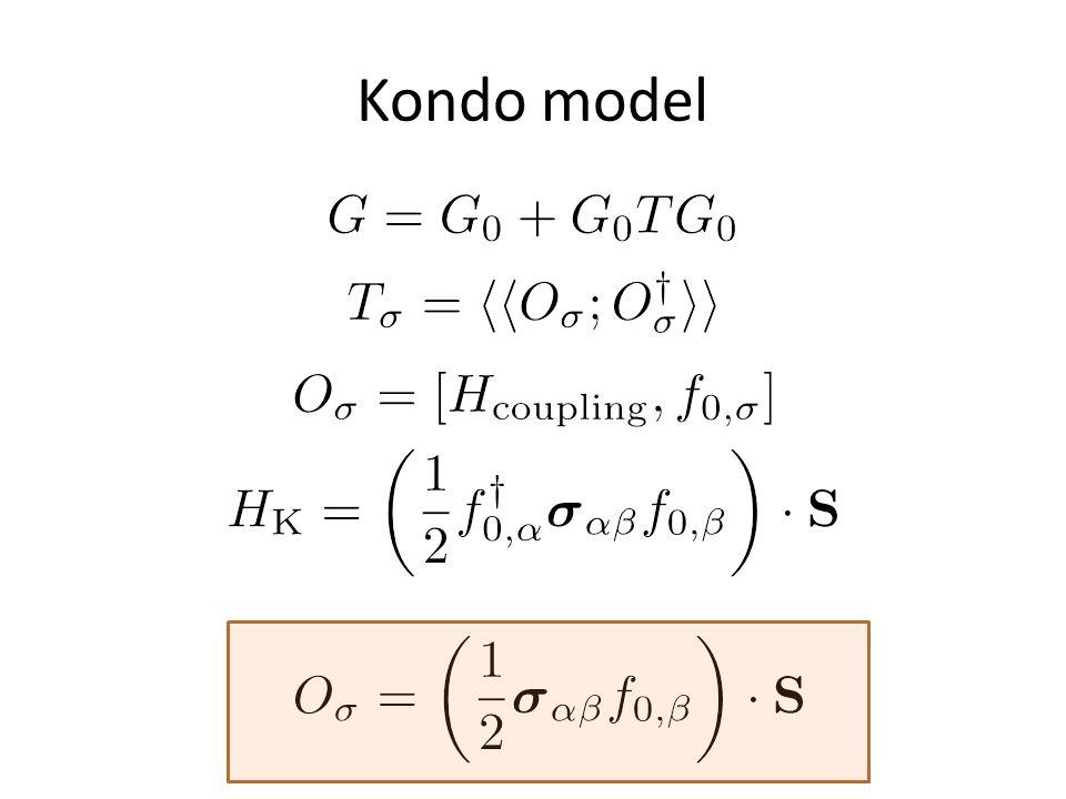 Kondo model