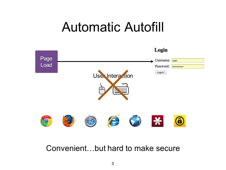 Should we autofill? 6 Automatic Autofill Corner Cases