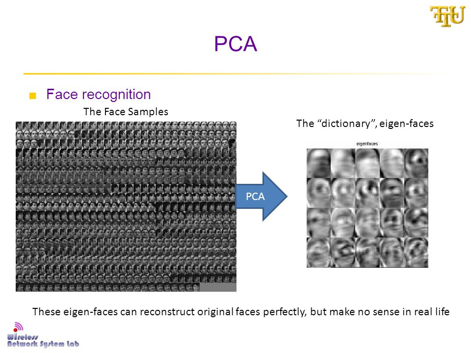 Structured SPCA ■The SPCA goal: □Make dictionary more interpretable □The sparse solution: Limit the number of nonzeros Non-sparse Eigen-faces from PCA Sparse Eigen-faces from SPCA But the eigen-faces are still meaningless most of time