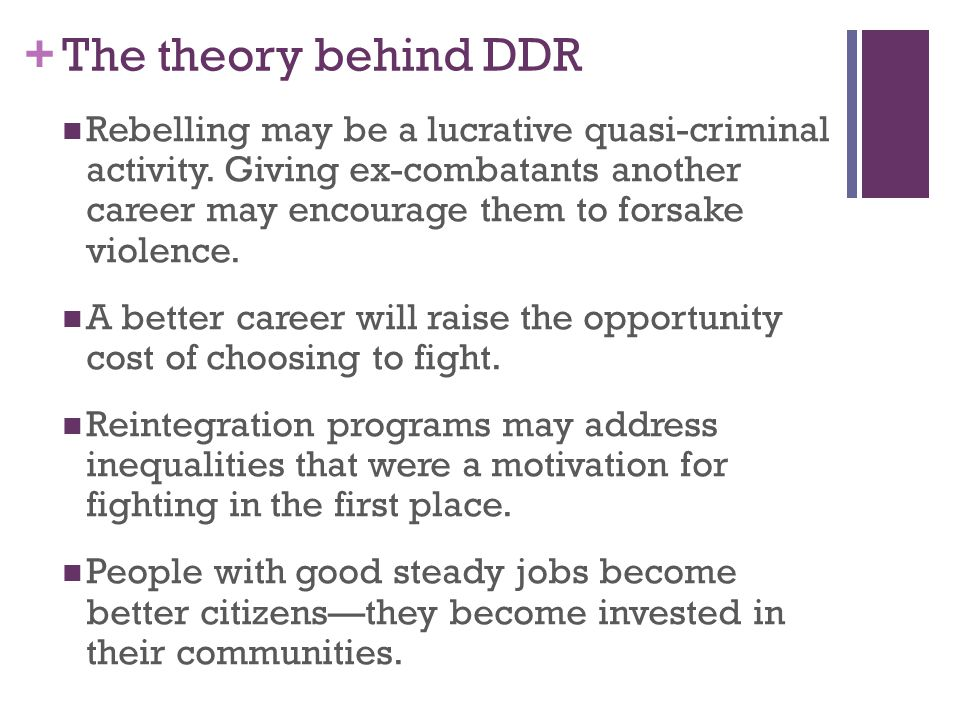 + The theory behind DDR Rebelling may be a lucrative quasi-criminal activity.