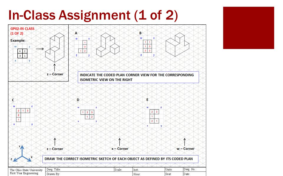 Graphics 2: Inclined and Curved Surfaces in Isometric Sketching ENGR 1182