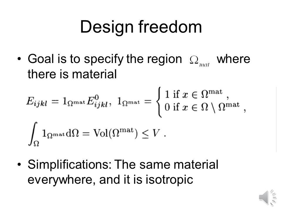 Example Rectangular domain, 50% volume fraction, 3200 finite elements