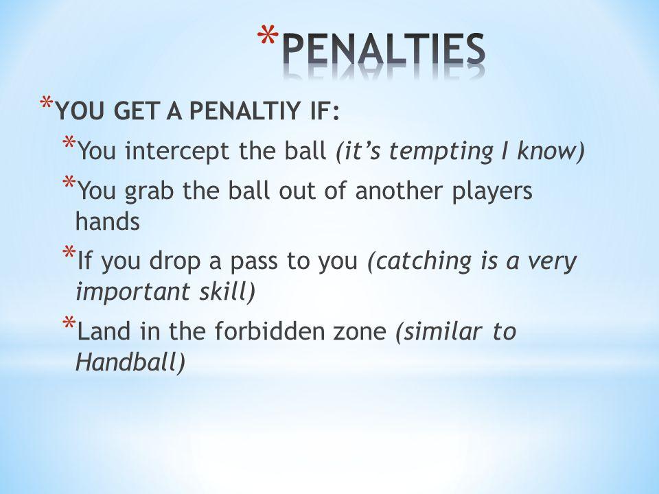 CRITERIA HANDBALL TCHOUKBALL Skills required the same.