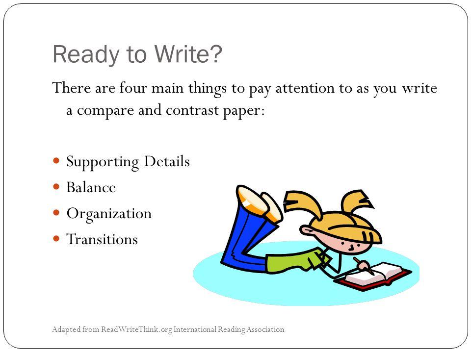 Ready to Write.
