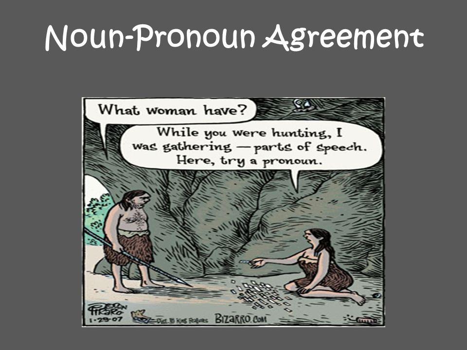 Noun-Pronoun Agreement