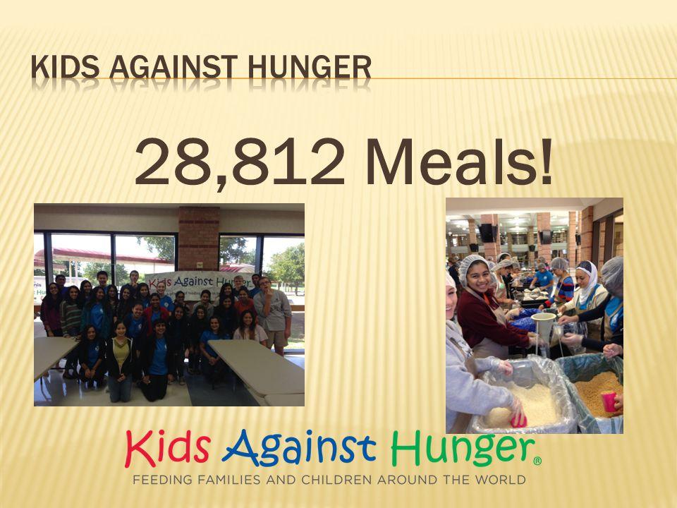 28,812 Meals!