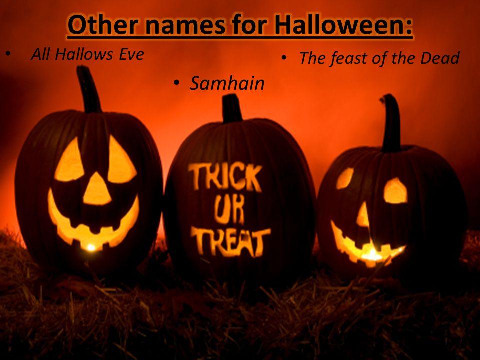 All Hallows Eve Samhain The feast of the Dead