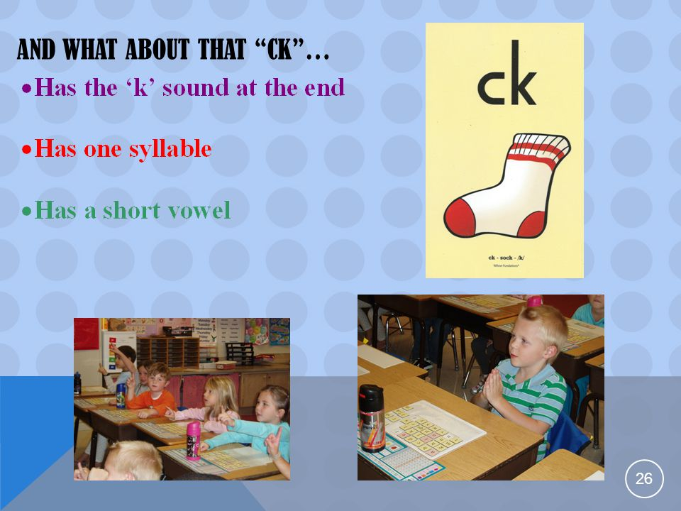 """AND WHAT ABOUT THAT """"CK""""… 26"""
