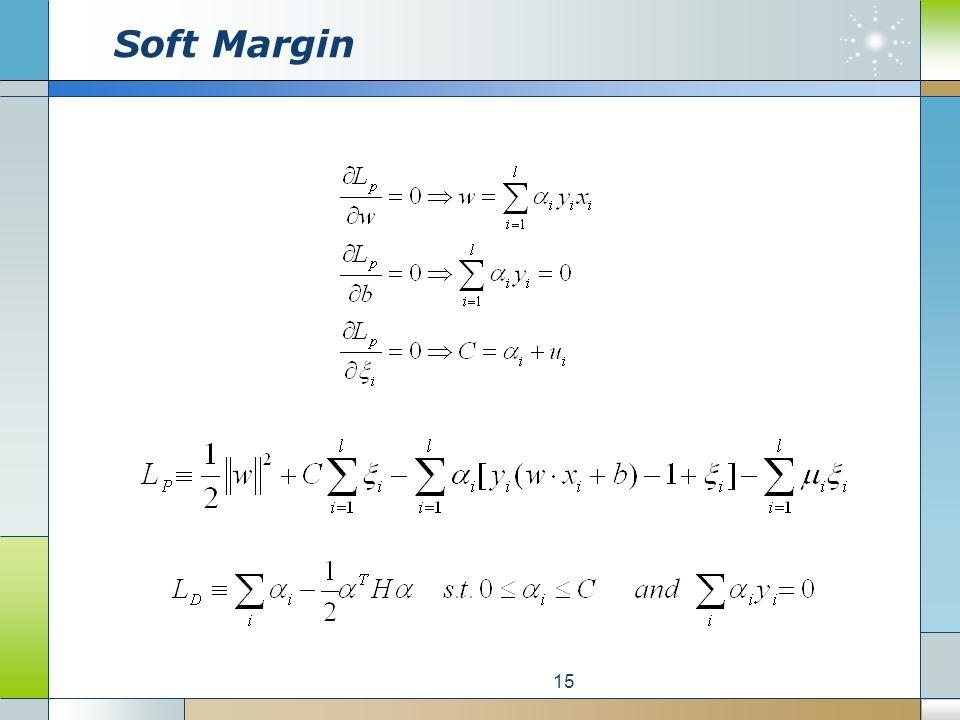 Soft Margin 15