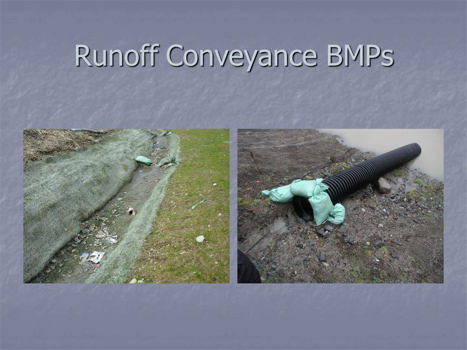 Runoff Conveyance BMPs