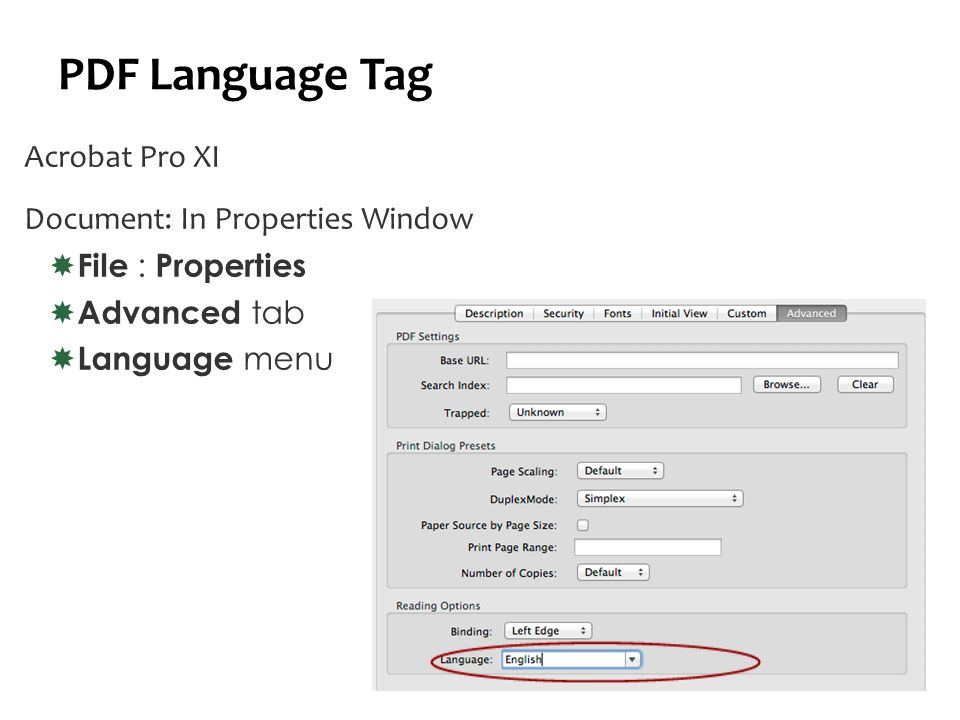 Language Tags Word/PPT  Office 2010 (Win)  Review tab, Language Group Set Proofing Language  Office 2011 (Mac)  Tools : Language  Demo  Mathématique