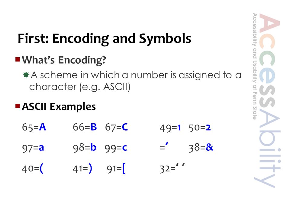 Next: Tech Symbols  Tech Symbols = , ə,ŋ, ∲,∑, ⊃,¥,, ₩,, ₪,,  ≠ MathML (or ChemML)  Phonetics, currency, emoji, weather/astronomy, logic  ≠ MathML or ChemML  Although you can use this tech for one line expressions in a pinch.