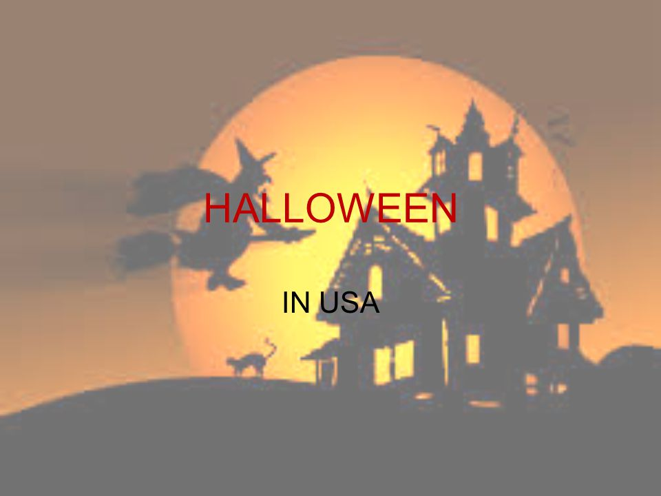 Many Americans celebrate Halloween on October 31.