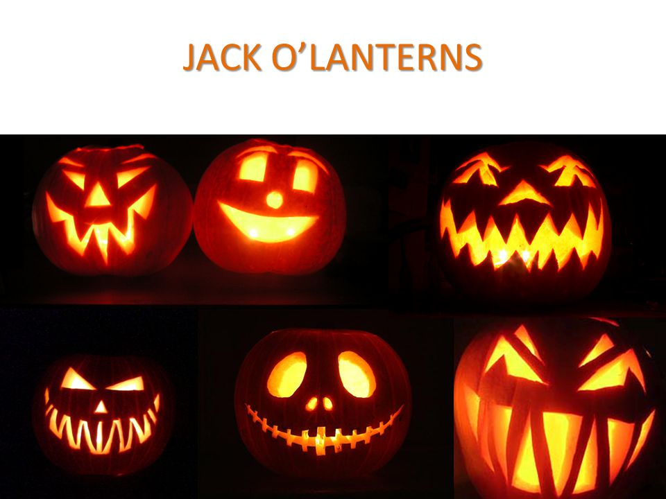JACKO'LANTERNS JACK O'LANTERNS