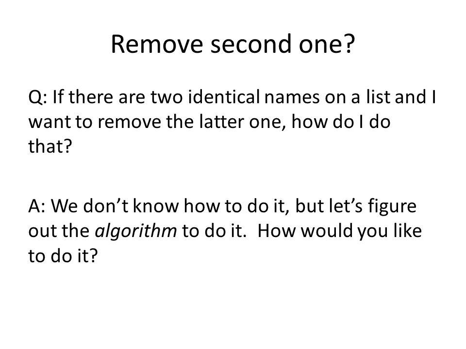 Remove second one.