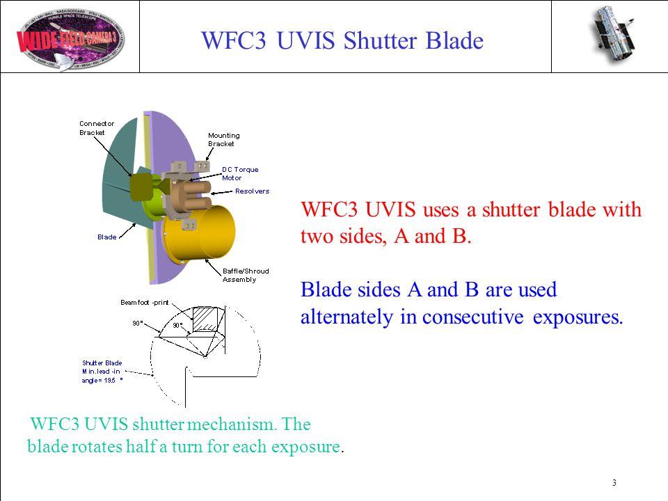3 WFC3 UVIS Shutter Blade WFC3 UVIS shutter mechanism.