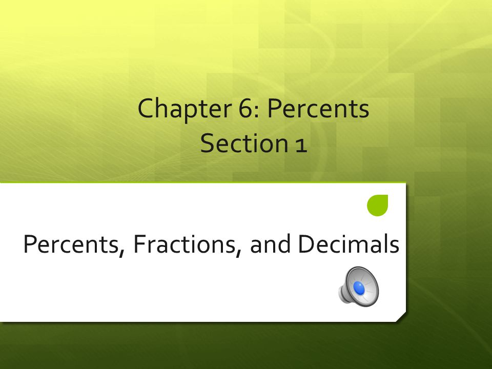 Examples of Converting Percents to Fractions  Example #1: Write 55% as a Fraction.