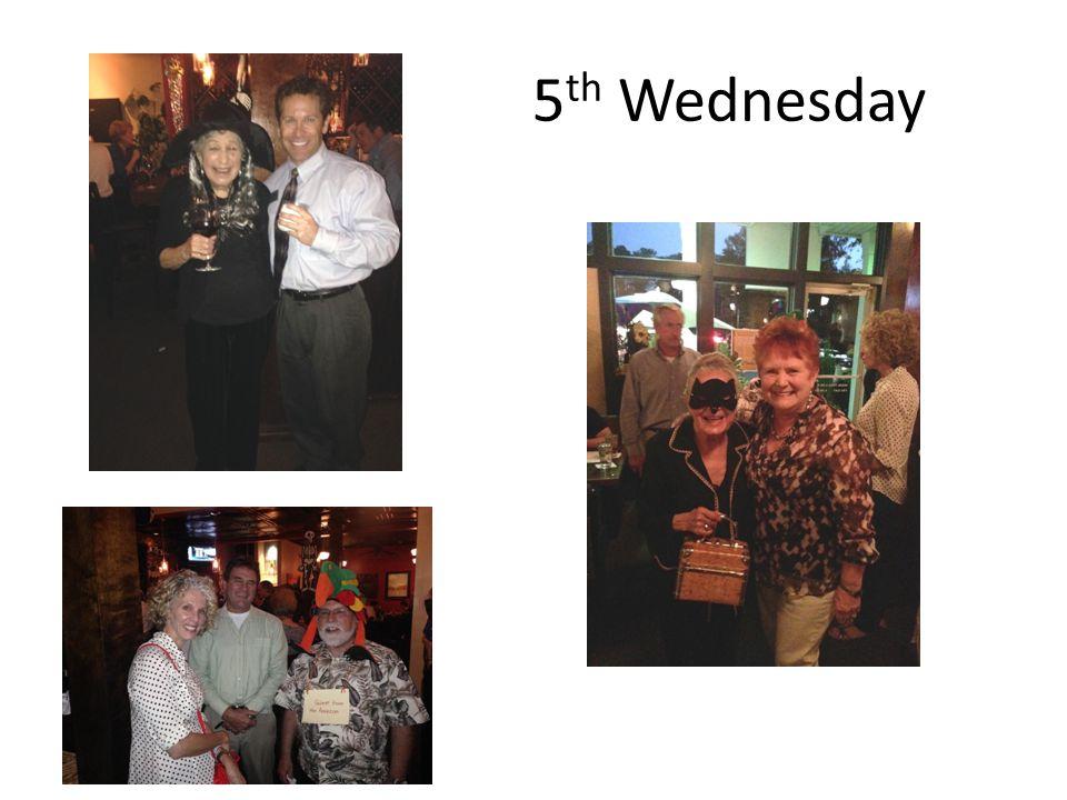 5 th Wednesday