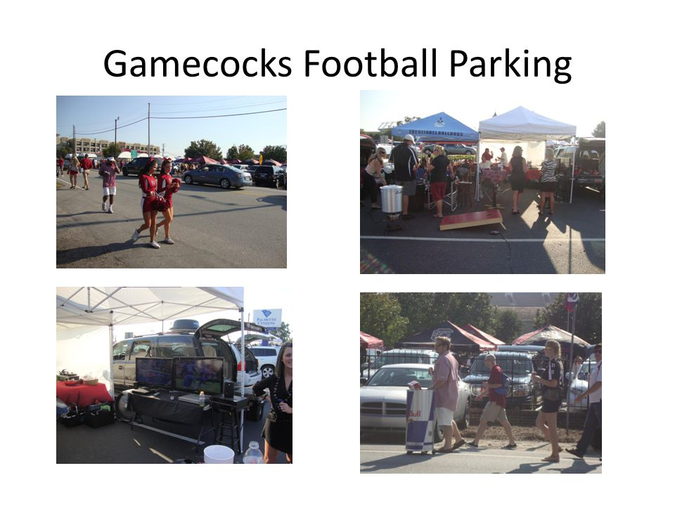 Gamecocks Football Parking