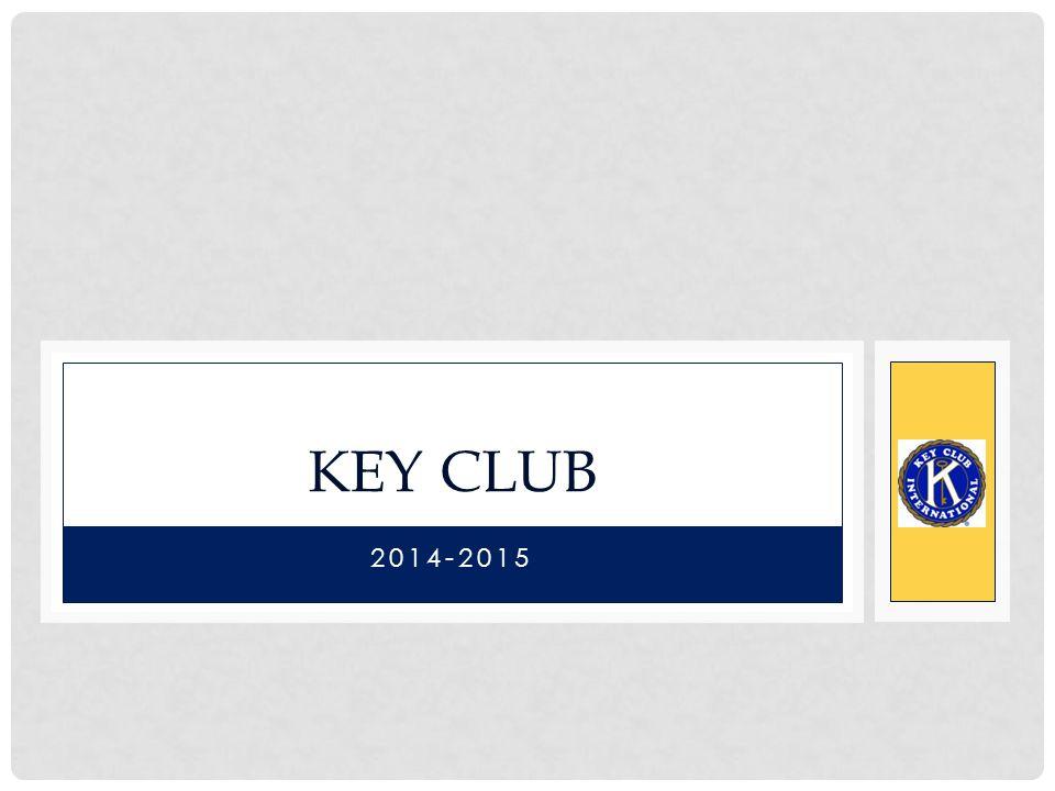 2014-2015 KEY CLUB
