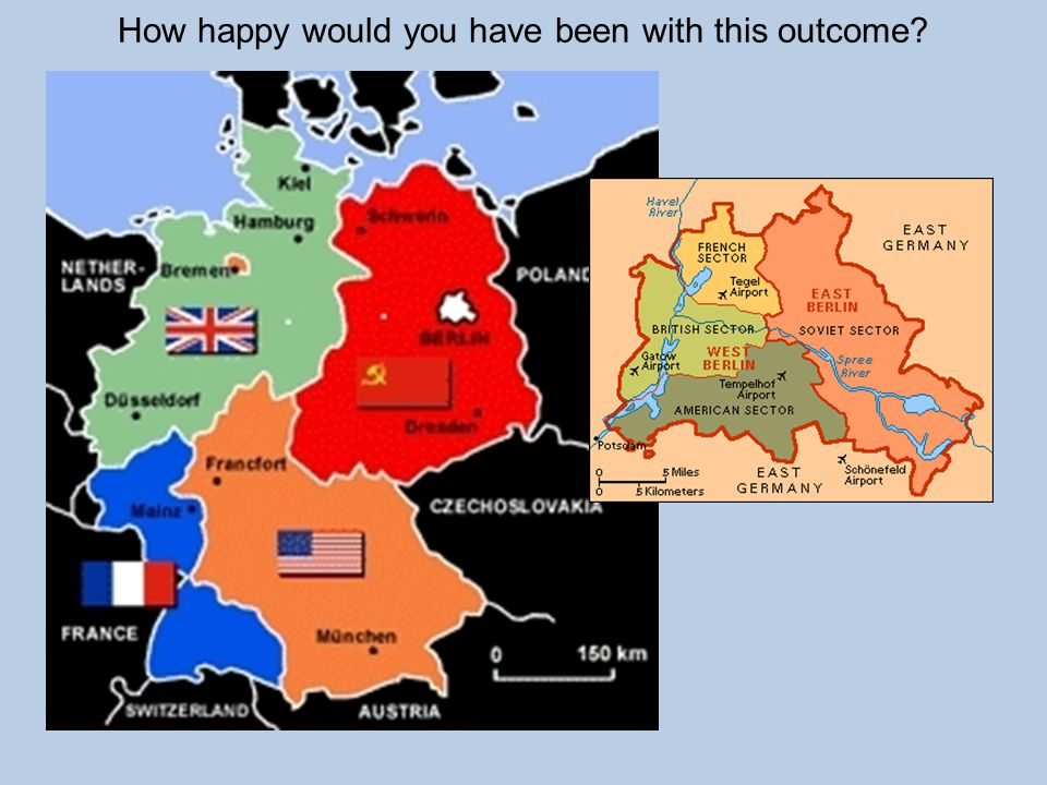 WHAT CAUSED THE COLD WAR.V –Yalta and Potsdam: What to do with Germany.