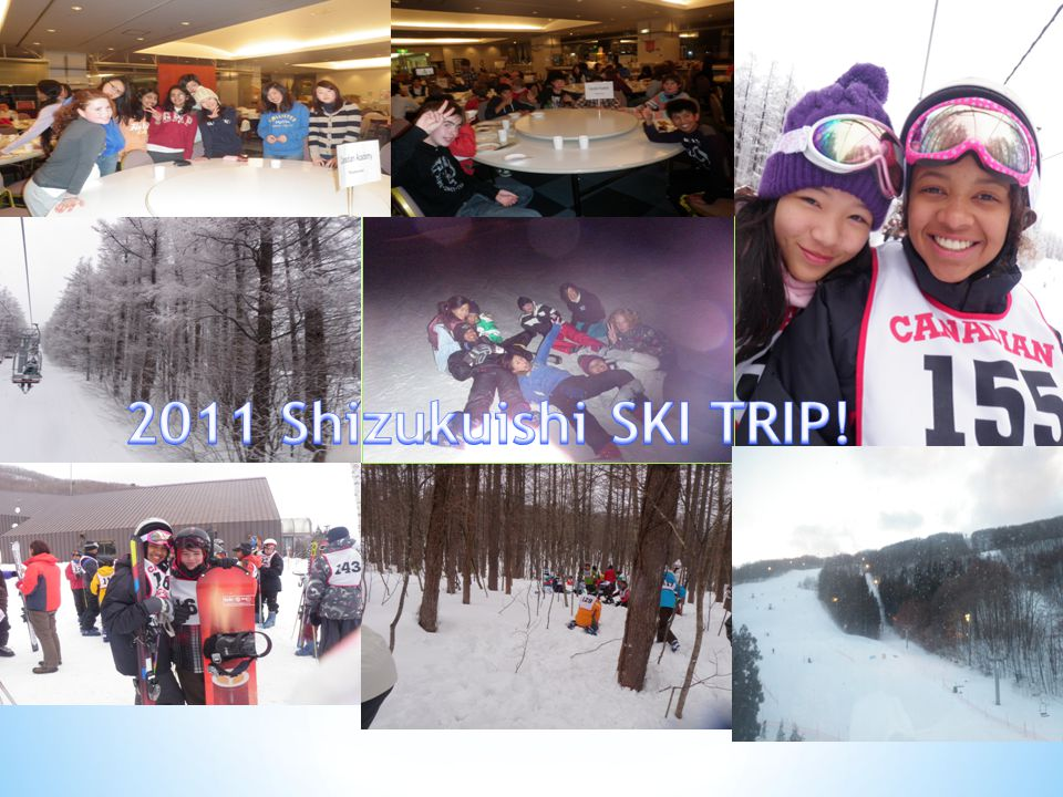 This is my very first time Skiing and traveling somewhere with friends and teachers.