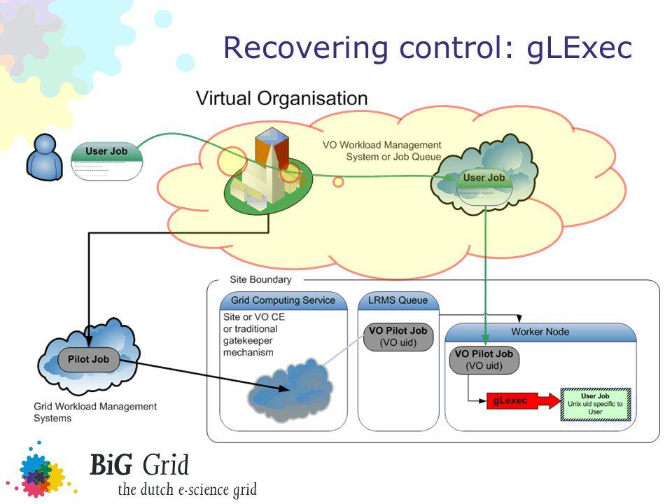 Recovering control: gLExec