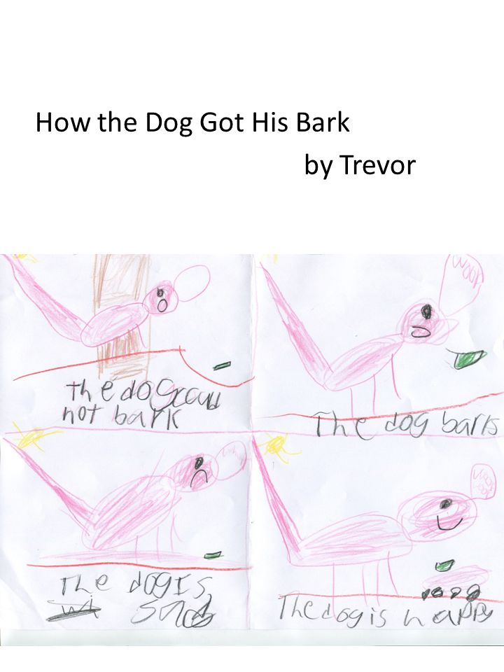 How the Dog Got His Bark by Trevor