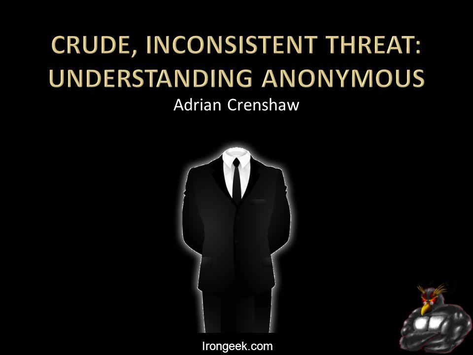 Irongeek.com Adrian Crenshaw