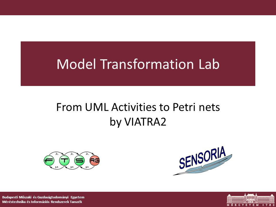DEMO Simple GT rules in Viatra2 LHSRHS trace