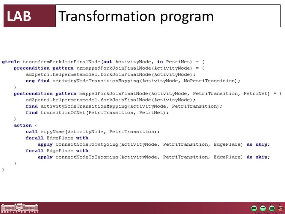 LAB Transformation program