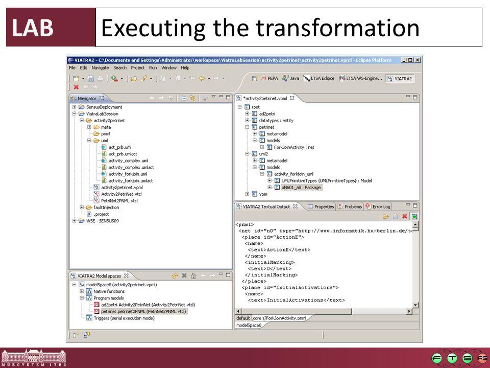 UML Activity  Petri net  Action  Control flow During Enter Exit